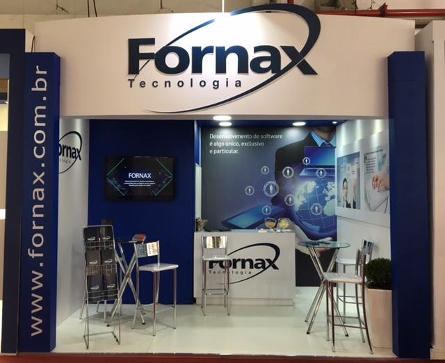 A fornax tecnologia está participando da feira hospitalar